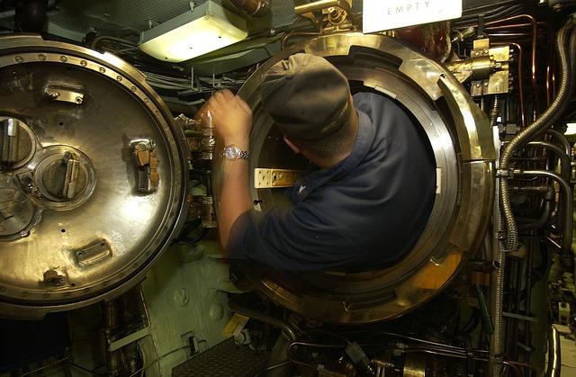 námořník v ponorce
